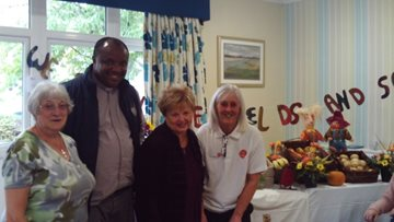 Dudley care home hosts harvest festival celebrations
