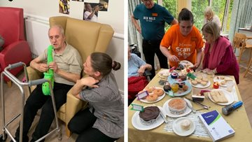 Glasgow care home hosts fun-filled afternoon for BBC Music Day