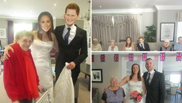 Grampian Court celebrate the Royal Wedding with their very own Meghan and Harry