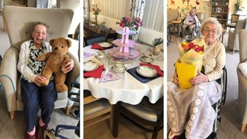 Northampton care home celebrate Mother's Day