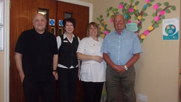 Inspirational talk at Bellshill care home