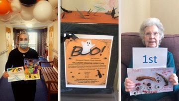 Falkirk care home Colleagues host Halloween drawing competition for local children