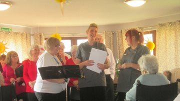 Coalville care home hosts open day