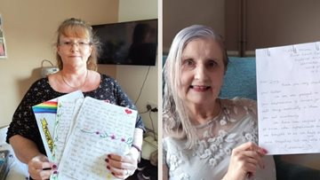 Happiness for Watford Residents involved in pen pal scheme