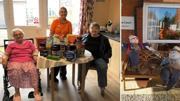 Newton Aycliffe care home host harvest festival celebrations