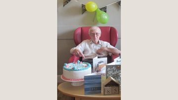 Big 90th birthday for Resident at Wotton-Under-Edge care home