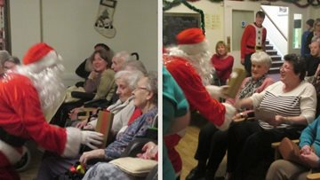 Harrogate care home hosts festive celebration