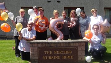 Dunfermline care home celebrates 'top marks' in Care Inspectorate report