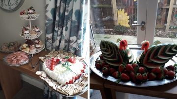 Love is in the air at Hartlepool care home