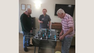 Luton care home opens game room for Residents