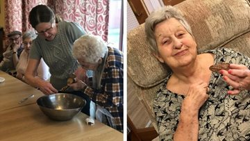 Residents cook up a treat at Cherry Willingham care home