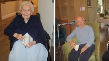 Nutrition and Hydration Week at Newlands care home