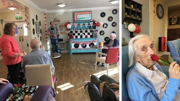 Musical afternoon at Northwich care home