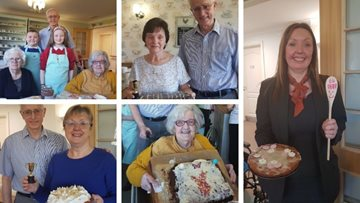Ready, set, bake at Newcastle care home