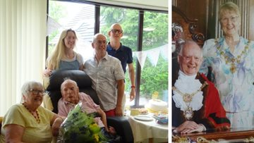 Golden anniversary celebration at Harrogate care home