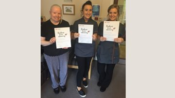Lincoln care home celebrated Colleague kindness