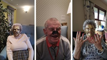 Residents enjoy pamper day at Kirkcaldy care home