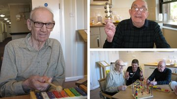 Magical musical afternoon for Hinckley care home