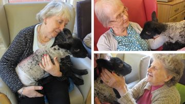 Coventry care home welcomes special springtime visitor