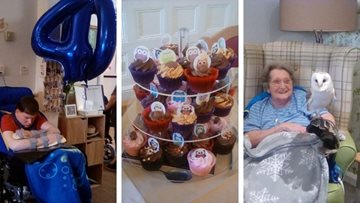 40th birthday celebrations at Belper care home