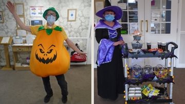 Stockton on Tees care home Residents enjoy Halloween weekend