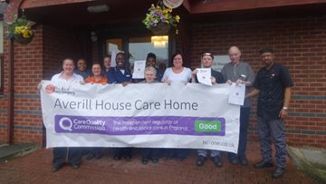 Manchester care home enjoys success in CQC report