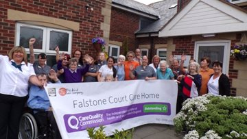 Roker care home celebrates success in CQC report