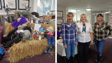 Harvest celebrations at Stanley care home