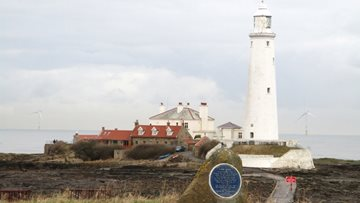 Redesdale Court visit Whitley Bay Lighthouse