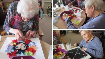 Arts and crafts at Aberford Hall