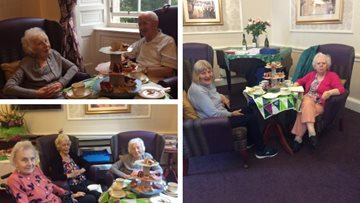 Edinburgh care home celebrates fundraising success