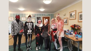 Spook-tacular fun at Dartford care home