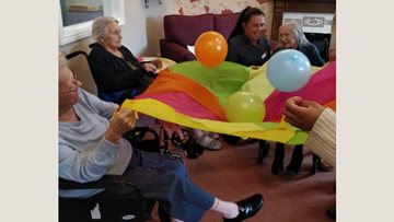 Goole care home Residents enjoy an afternoon of summer fun