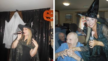 Spooktacular celebrations as The Songbirds visit Barton Brook
