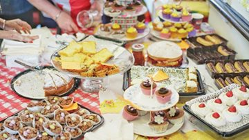 Greenways Court host coffee morning for Macmillan