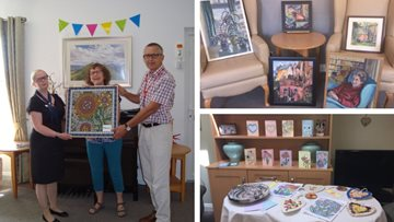 Creative community comes together at Penrith care home