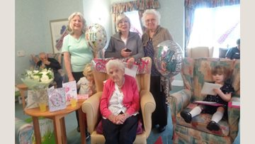 104th Birthday at Roseberry Court