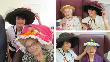 Easter bonnet competition is a success at Roundhay care home