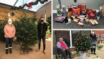 Boston care home receive wonderful Christmas donations from the community