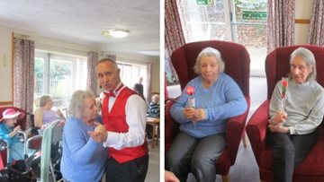 Love is all around as Wigston care home celebrates Valentine's Day