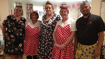 VE Day remembered at Daneside Court