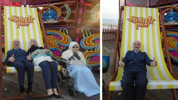 Appleton Manor Residents enjoy trip to Illuminations