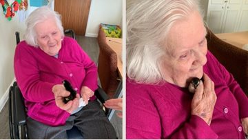 Brixworth baby chicks finally meet Residents