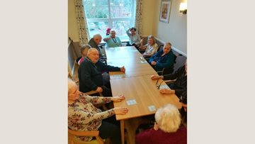 Widnes care home enjoys bingo with a twist