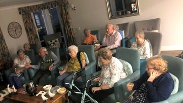 Weekly movie nights promote social inclusion at Foxton Court
