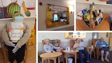 Harvest festival ready at Tameside care home