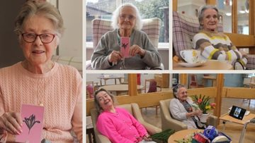 Women celebrated at Glasgow care home