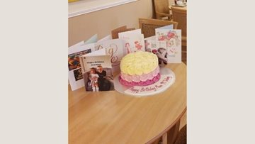 Dukinfield care home celebrates Residents 99th birthday