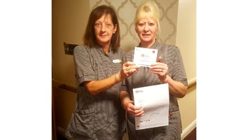 Domestic team member at Linlithgow Care Home celebrates 20 years of service