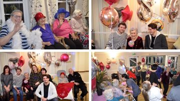 Resident turns '21 again' at Hayes care home